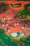 Buddhas Biografie: Bereiten Sie sich zu ordian vor Lizenzfreie Stockfotos