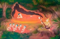Buddhas Biografie: Erste fünf Nachfolger Lizenzfreies Stockbild