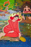 Buddhas Biografie: Wunsch für Erfolg Stockfotografie