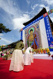 Buddhas birthday Royalty Free Stock Photography