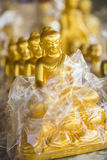 Buddhas. Buddha souvenirs close-up, shallow depth of field, Myanmar, Burma, Southeast Asia royalty free stock images