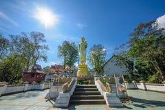 Buddhas de Tailandia Foto de archivo libre de regalías