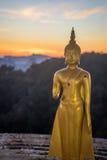 Buddhas 2 del tempio della tigre Fotografia Stock