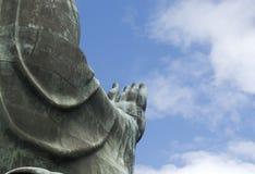 Buddhas die hand zegenen Royalty-vrije Stock Afbeeldingen