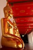 Buddhas dorato Immagini Stock Libere da Diritti