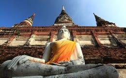 Buddhas en Ayutthaya Fotos de archivo