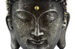 Buddhas Gesicht lizenzfreies stockbild