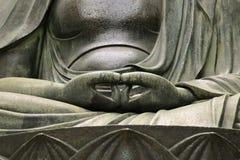 Buddhas Hände Stockbilder