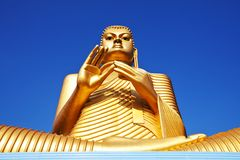 buddhas lanka sri雕象 免版税库存照片