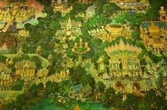 Buddhas Lebenszeit Stockfotos