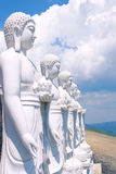 Buddhas Meditating Foto de archivo