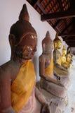 Buddhas Meditating Foto de archivo libre de regalías