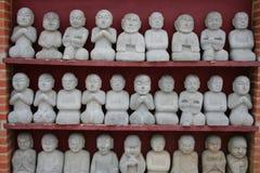 Buddhas Meditating imagem de stock