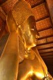 Buddhas nel tempio Fotografia Stock