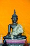 Buddhas nel tempio Fotografie Stock