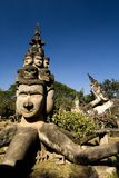 Buddhas - parque de Buddha, Vientiane. Laos Fotos de archivo