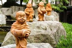 Buddhas pequenos fotografia de stock