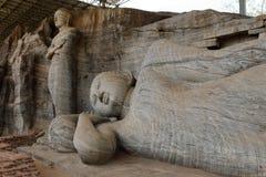 Buddhas Polonnaruwa в Шри-Ланке стоковые фото