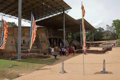 Buddhas Polonnaruwa в Шри-Ланке стоковая фотография