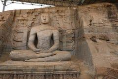 Buddhas Polonnaruwa в Шри-Ланке стоковое фото