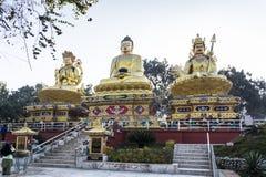 Buddhas statue in Kathmandu Stock Photography