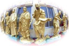 Buddhas statuy Zdjęcie Royalty Free