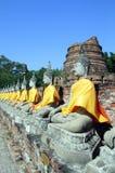 Buddhas tailandés Fotografía de archivo
