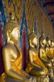 Buddhas tailandés imagen de archivo