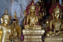 Buddhas w zawala się Fotografia Stock