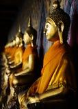 Buddhas of Wat Arun, Bangkok, Thailand Stock Image