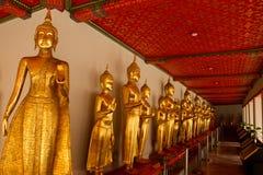 Buddhas Wat Pho, Бангкока, Таиланда стоковая фотография