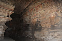 The Buddhas of the Yungang Cave Monastery of Datong Stock Photography