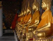 buddhas złoci Zdjęcie Royalty Free