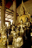 buddhasgrupp Arkivfoto