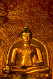 Buddhasihink in Wat Phra Singh, Chiangmai Royalty-vrije Stock Afbeeldingen