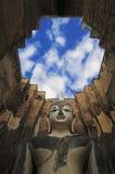 Buddhaskulptur arkivfoton