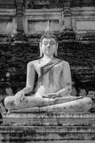 Buddhaskulptur Royaltyfri Bild