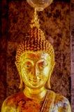 Buddhaskulpturslut upp Wat Doi Suthep Chiang Mai Asien Arkivbilder