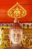 Buddhaskulpturslut upp Wat Doi Suthep Chiang Mai Asien Arkivfoton
