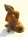 Buddhasouvenir bronser india fotografering för bildbyråer