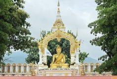 Buddhastaty Royaltyfria Bilder