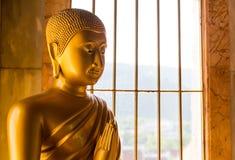 Buddhastaty Arkivfoto