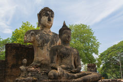 Buddhastaty. Royaltyfria Bilder