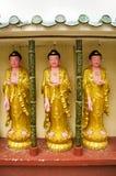 Buddhastaty av Kek Lok Si Chinese och buddistisk tempel arkivbilder
