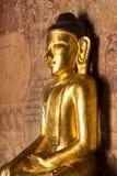 Buddhastaty, Bagan, Myanmar Arkivfoto