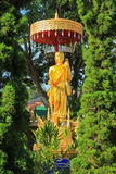 Buddhastaty Chiang Mai Thailand Royaltyfri Fotografi