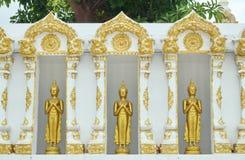 Buddhastaty Chiangmai Thailand Royaltyfri Bild