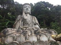 Buddhastaty, Chin Swee Caves Temple, Malaysia Royaltyfri Foto