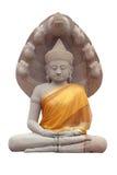 Buddhastaty för Nak Prok i Thailand Royaltyfri Foto