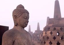 Buddhastaty från sidan Royaltyfri Bild